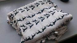 Отдается в дар «Блузка с изображениями лошадей»