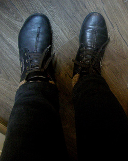 Отдается в дар «Ботинки rieker 38»