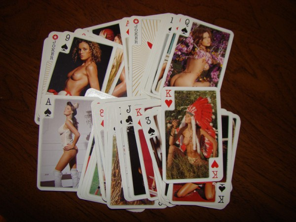 Erotic card 'sweet moments''paper