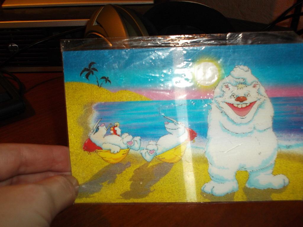 Голографические открытки москва