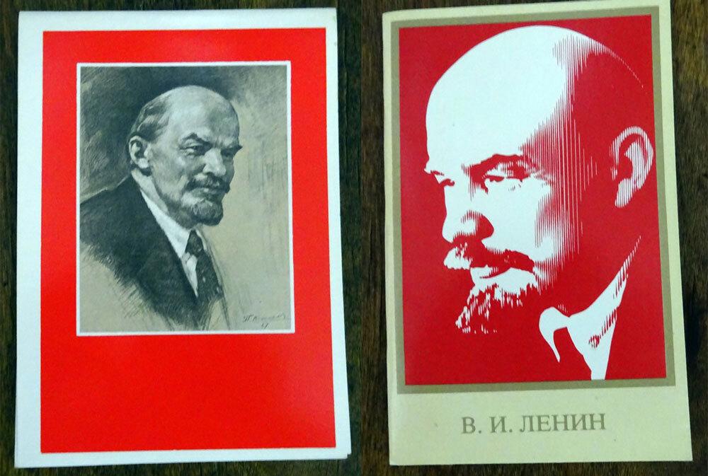 советские открытки ленин неприхотливый, крепкий