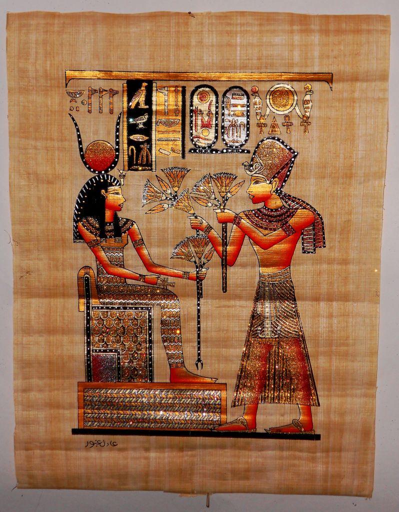 Картинки на папирусе их значение