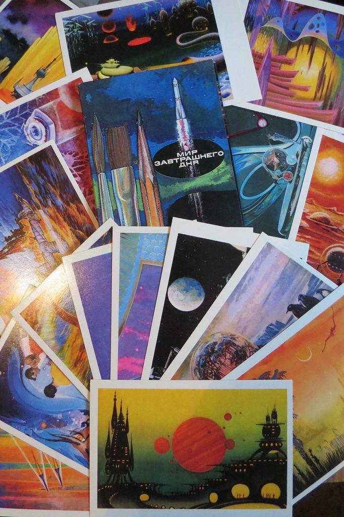 набор открыток мир завтрашнего дня гостиничных