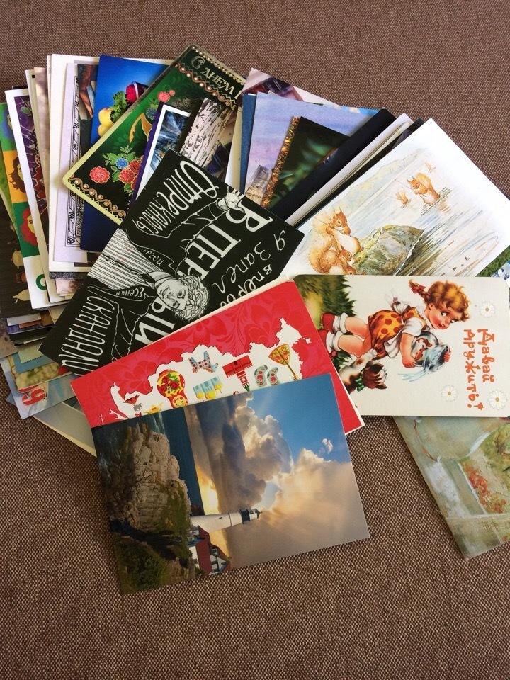 Не приходят открытки с посткроссинга, первым