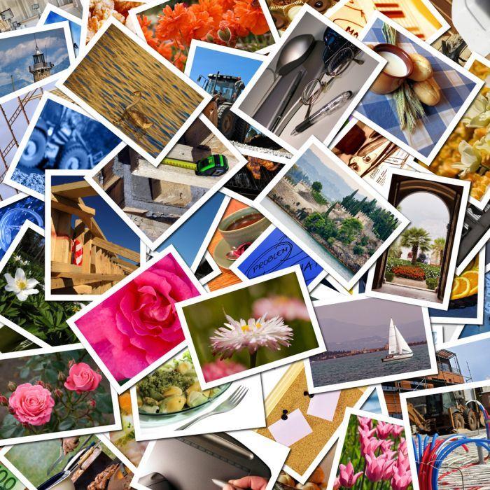 Фотоколлаж вместо открытки уходе, ошибках
