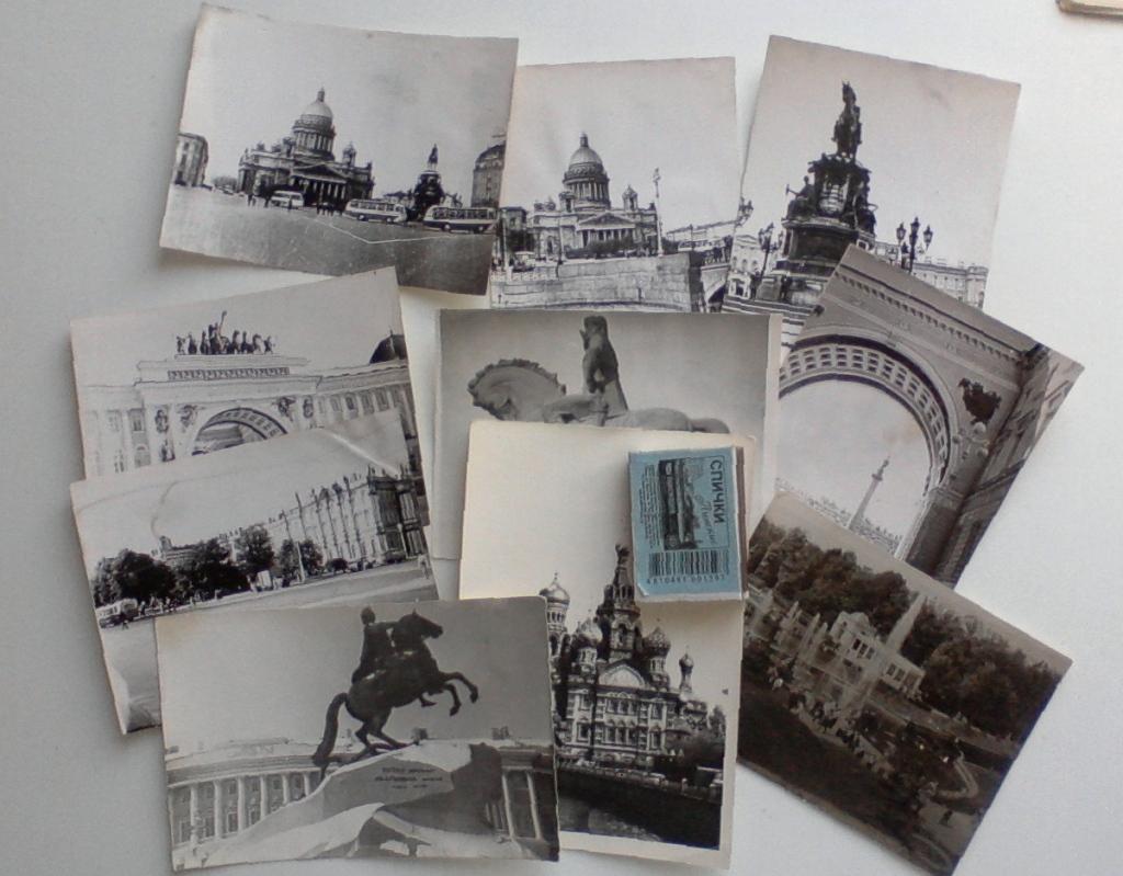 сборник фотографий ленинграда линолеум