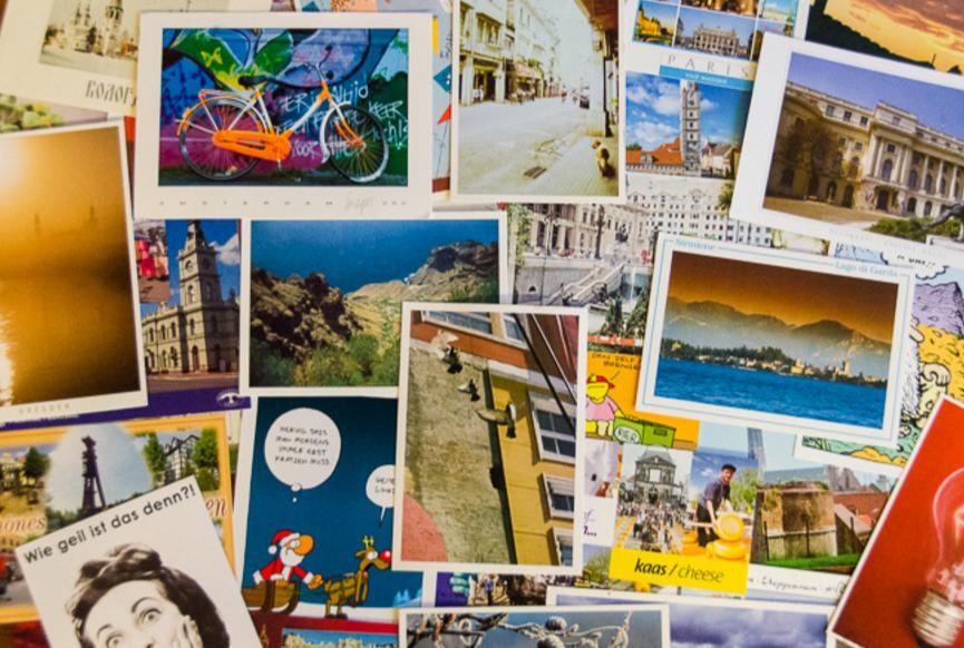 Обмен открытками с другими странами