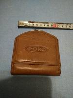 Отдается в дар Мужской кожаный кошелек