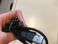 Отдается в дар USB кабель с штекером для фотоаппарата