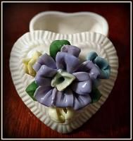 Отдается в дар Шкатулка «сердце».