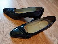 Отдается в дар Туфли женские, лакированные, разм. 41