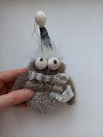 Отдается в дар мягкая игрушка сова