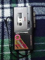 Отдается в дар Кассетный диктофон Sony M 729 V