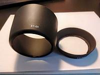 Отдается в дар Бленда для фотоаппарата Canon ET-60 и EW -60C