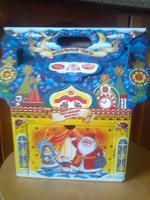 Отдается в дар Домик (упаковка от подарка)