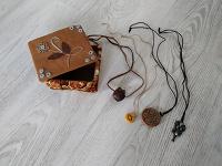 Отдается в дар Шкатулка хэнд-мейд и украшения