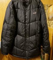Отдается в дар Куртка зимняя на пуху мужская разм. 56-58