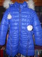 Отдается в дар Куртка зимняя девочке