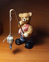 Отдается в дар Статуэтка «Мишка-рыболов».