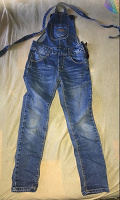 Отдается в дар Комбинезон джинсовый р 110-116