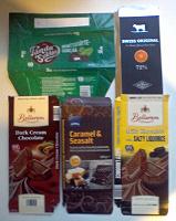 Отдается в дар Обертки от шоколадок. 3 фото.