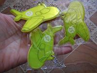 Отдается в дар Светоотражающие подвески для детских портфелей/сумок