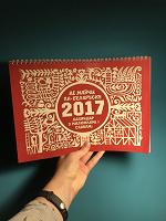Отдается в дар Календарь с белорусскими словами