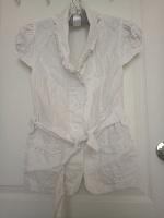Отдается в дар Льняная летняя рубашка 44 размер