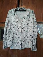 Отдается в дар Рубашка с журавлями, женская