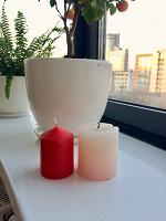 Отдается в дар Парафиновые свечи