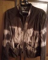 Отдается в дар замшевая куртка 50 размер
