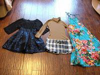 Отдается в дар Одежда девушкам от Ани и Ксюши
