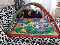 Отдается в дар Детский развивающий коврик.