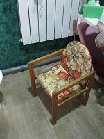Отдается в дар Стол и стул для кормления