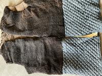 Отдается в дар Старая меховая подкладка.