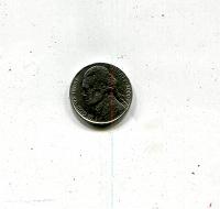 Отдается в дар 5 центов 2000 США (D)