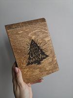 Отдается в дар Деревянный блокнот