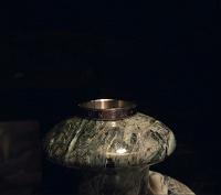 Отдается в дар Стальное кольцо «Ex Pluribus Unum» 20