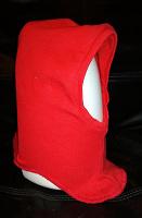 Отдается в дар Шапка — шлем детская красная, р.42-44, возраст 3-6 месяцев