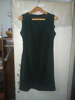 Отдается в дар Зеленое платье по фигуре.