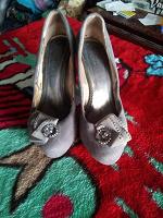 Отдается в дар туфельки на шпильке, 37 размер