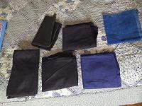 Отдается в дар лоскут( куски ткани)