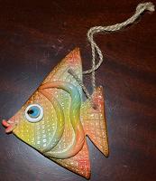 Отдается в дар Декоративная керамическая золотая рыбка (для исполнения желаний).