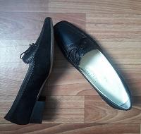Отдается в дар туфли кожа 37р.