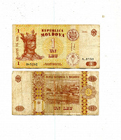 Отдается в дар В коллекцию — 1 лей 2010 Молдавия