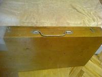 Отдается в дар Деревянный ящик-упаковка 54х31х7 см