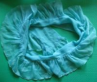 Отдается в дар шарф волан, вставки