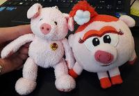 Отдается в дар СвиНюши :) свинки — брелоки