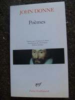Отдается в дар J. Done Poemes книга на французском