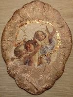 Отдается в дар Панно с ангелами